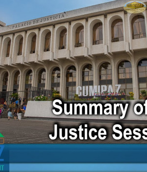 CUMIPAZ - Summary of the day: Justice Session 2018 | GEAP