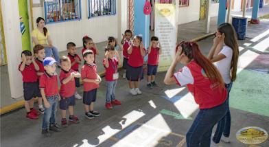 Alumnos de preescolar