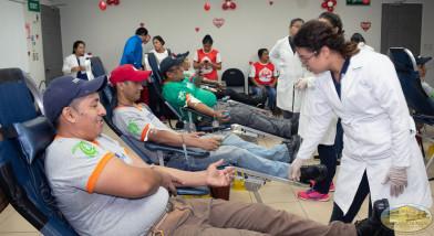 Termoencogibles S.A DE C.V. presente en la 12 Maratón Internacional de Donación de Sangre
