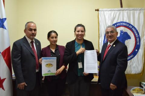 Proclama emitida por la Provincia de Panamá Oeste