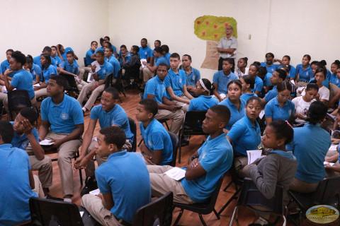 Liceo Juan Pablo Duarte abre sus puertas a los talleres educativos sobre Derechos Humanos