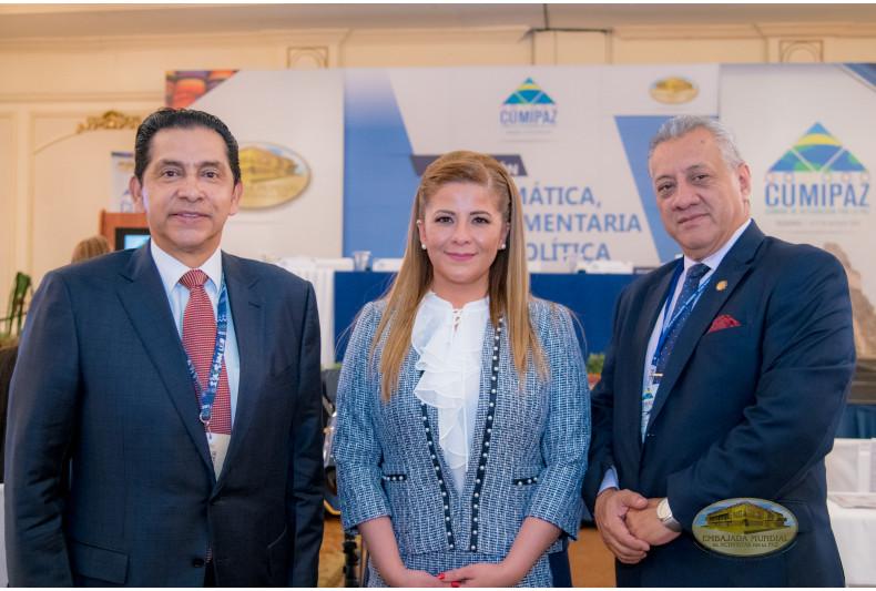 Participación en sesión diplomática