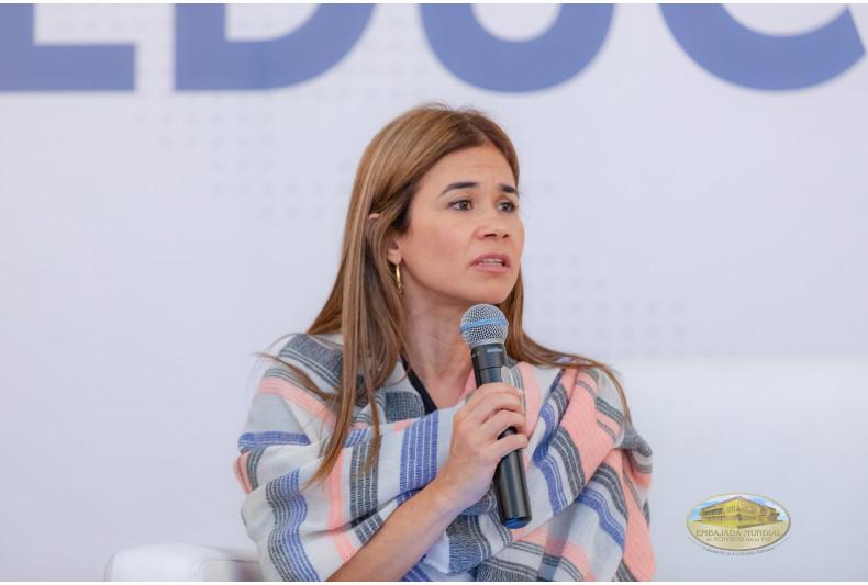 Vicerectora Liliana Naranjo