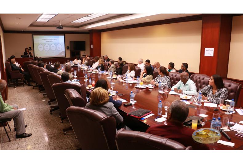 Representantes IES en reunion del MESCYT