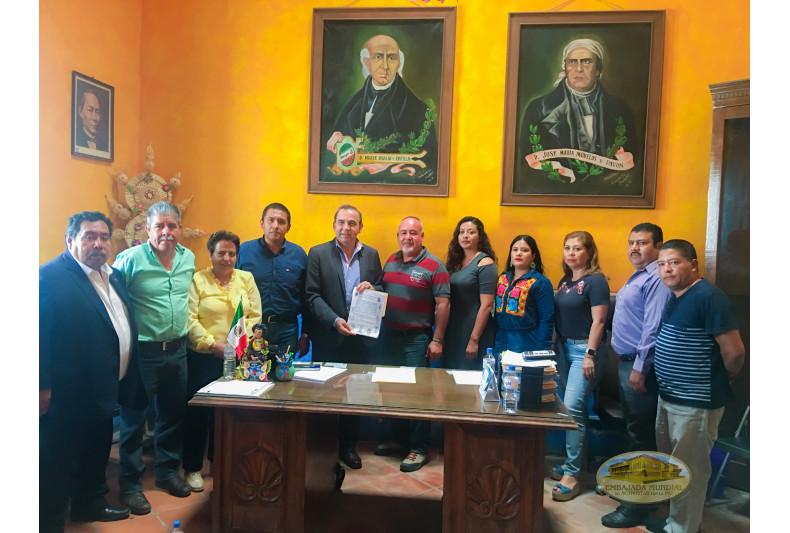 Proclama Cabildo de Ocotlan de Morelos