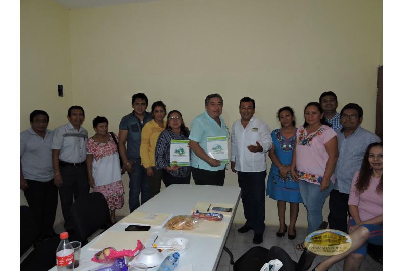 Calkini se une a los municipios de Campeche que apoyan a la Madre Tierra