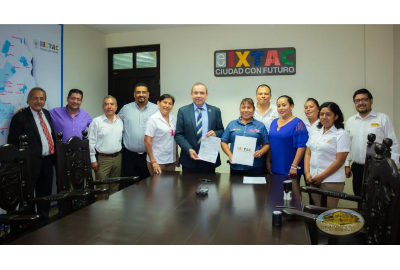 Proclama emitida en Ixtaczoquitlan, Veracruz