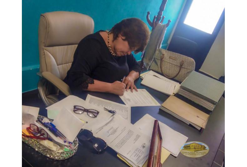Autoridades de Villa de Gónzalez Ortega, Zacatecas apoyan proclama de la EMAP