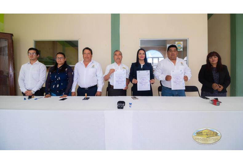 Proclama emitida en Cosautlán, Veracruz