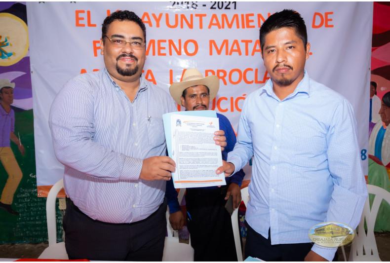 Ayuntamiento Filomeno Mata emite proclama en respaldo a la Madre Tierra