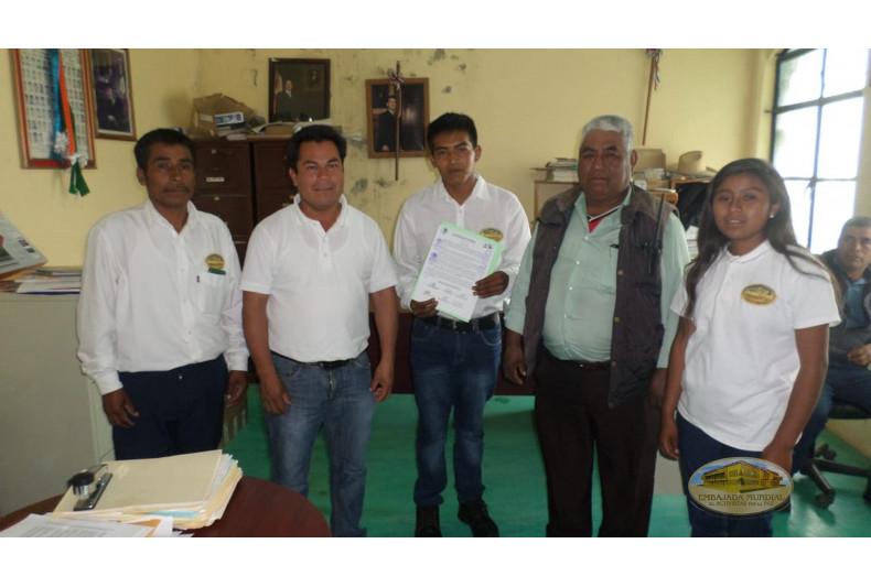 Santa María Peñoles, Oaxaca, entrega resolución en apoyo a programa de la EMAP