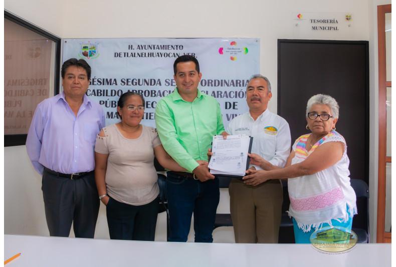 Tlalnelhuayocan, Veracruz emite resolución en apoyo a iniciativa de la EMAP