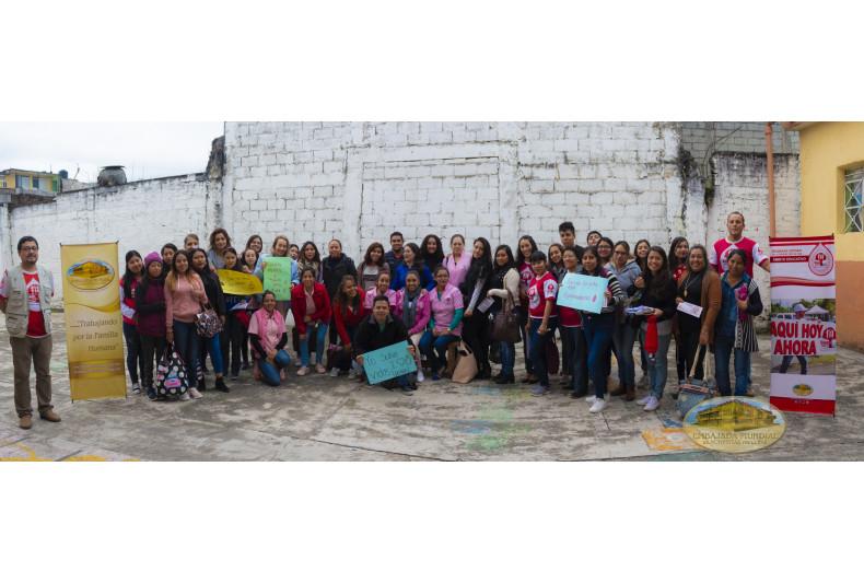 Jóvenes y activistas
