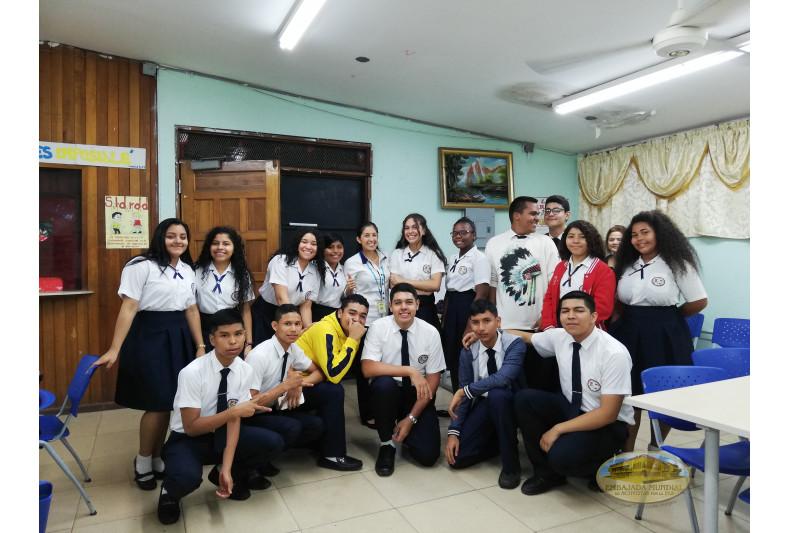 estudiantes participantes