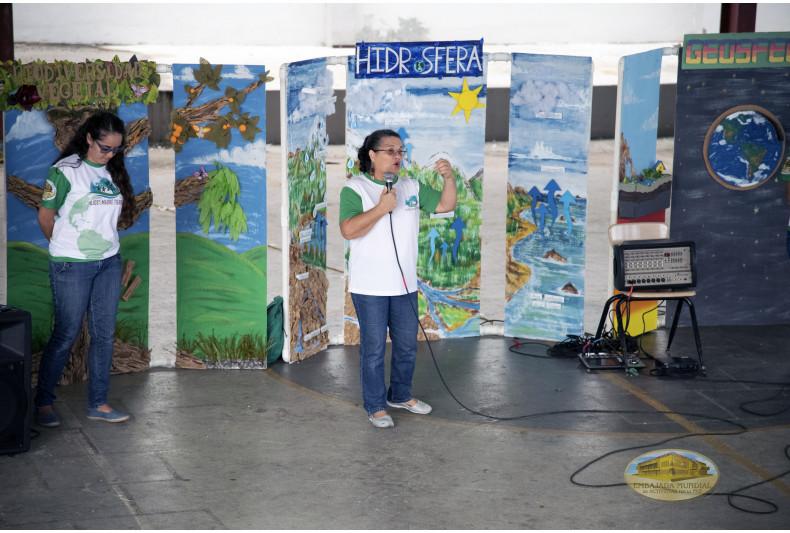 Módulos que conforman la exposición sobre Educación Ambiental