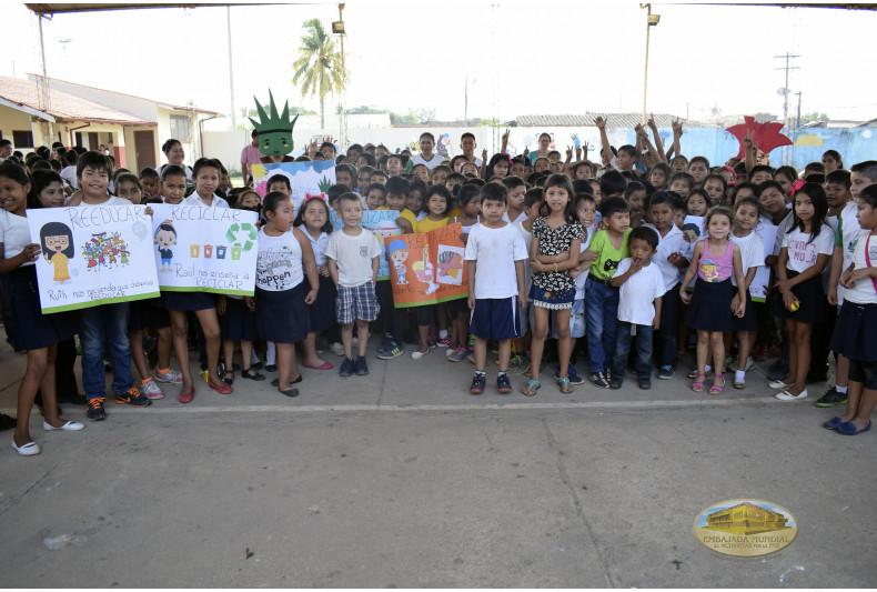 471 estudiantes fueron parte de la jornada de educación ambiental