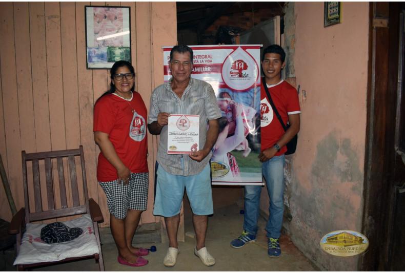 Charlas educativas acerca de la donación de sangre a familias