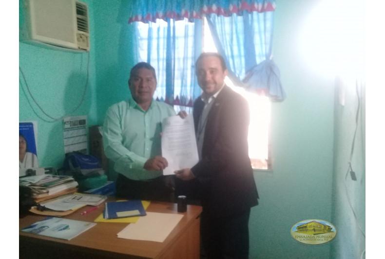 Gobernador Samuel Amador entrega proclama por la Madre Tierra