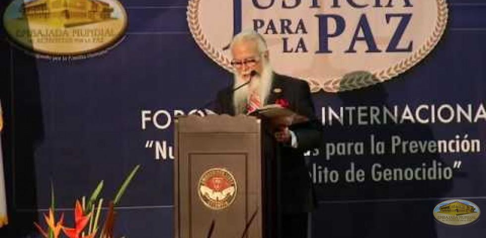 Primer Foro Judicial Internacional - Dr. William Soto