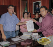 Proclama en Pichucalco, Chiapas.