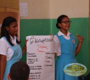 Socialización de los trabajos estudiantiles sobre Derechos Humanos