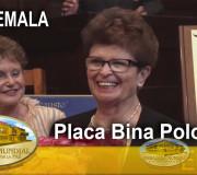 Huellas para No Olvidar - Guatemala - Placa Bina Polonsky   EMAP