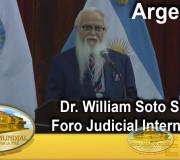 Justicia para la Paz - Argentina - Foro Judicial - Dr. William Soto Santiago | EMAP
