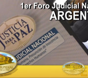 Justicia para la Paz - Mendoza, Argentina - 1er Foro Judicial Nacional | EMAP
