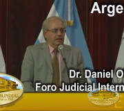 Justicia para la Paz - Argentina - Foro Judicial - Dr. Daniel Obligado | EMAP