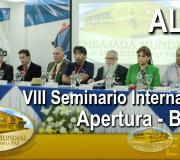 ALIUP - VIII Seminario Internacional - Apertura | EMAP