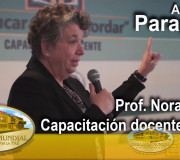 2017-08-10 - Educar para Recordar - Paraguay - Capacitación Docente: (Día 1) Prof. Nora Gahon   EMAP