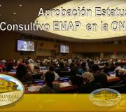 ECOSOC otorga a la EMAP estatus consultivo ante la ONU
