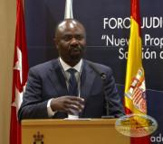 Justicia para la Paz - Foro Judicial en España - Dr  Antoine Kesia Mbe Mindua | EMAP