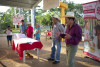 Los asistentes pudieron intercambiar opiniones acerca de la Donación de sangre