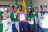 Decreto 093 de Guática entregado a los activistas de la EMAP