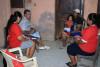 Familias reciben sesiones educativas de donación de sangre