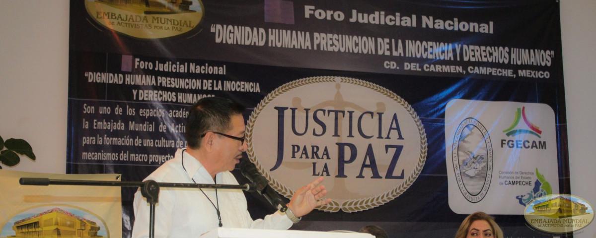 foro judicial para la paz