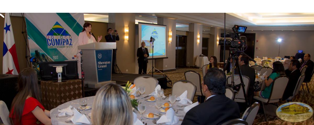 presentación Cumipaz 2017 en Panamá
