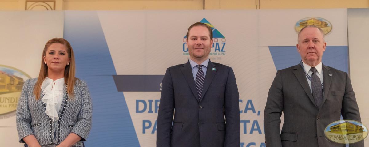 Sesión diplomática CUMIPAZ 2018