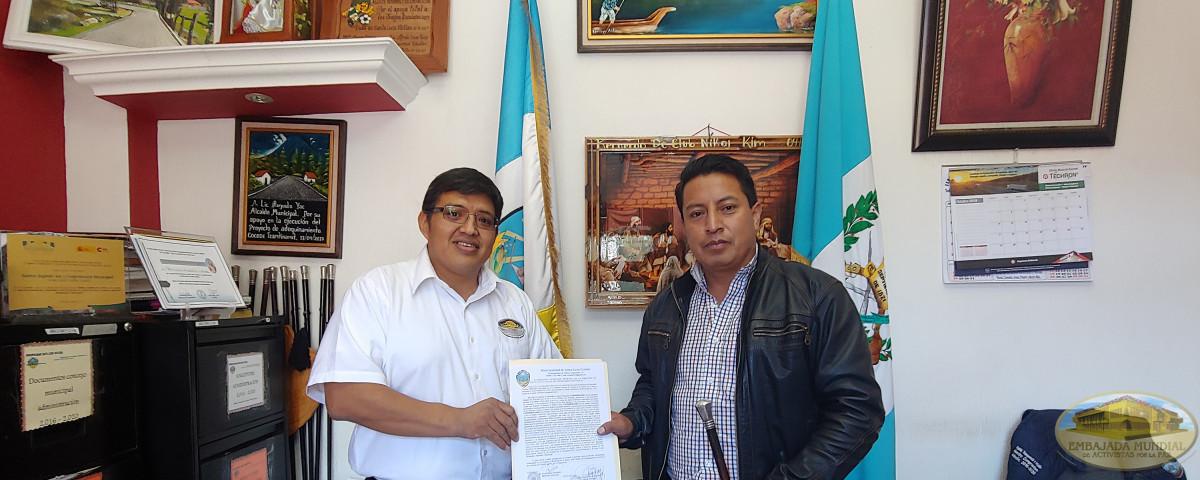 EMAP en Guatemala recibe resolución de Santa Lucía Utatlán