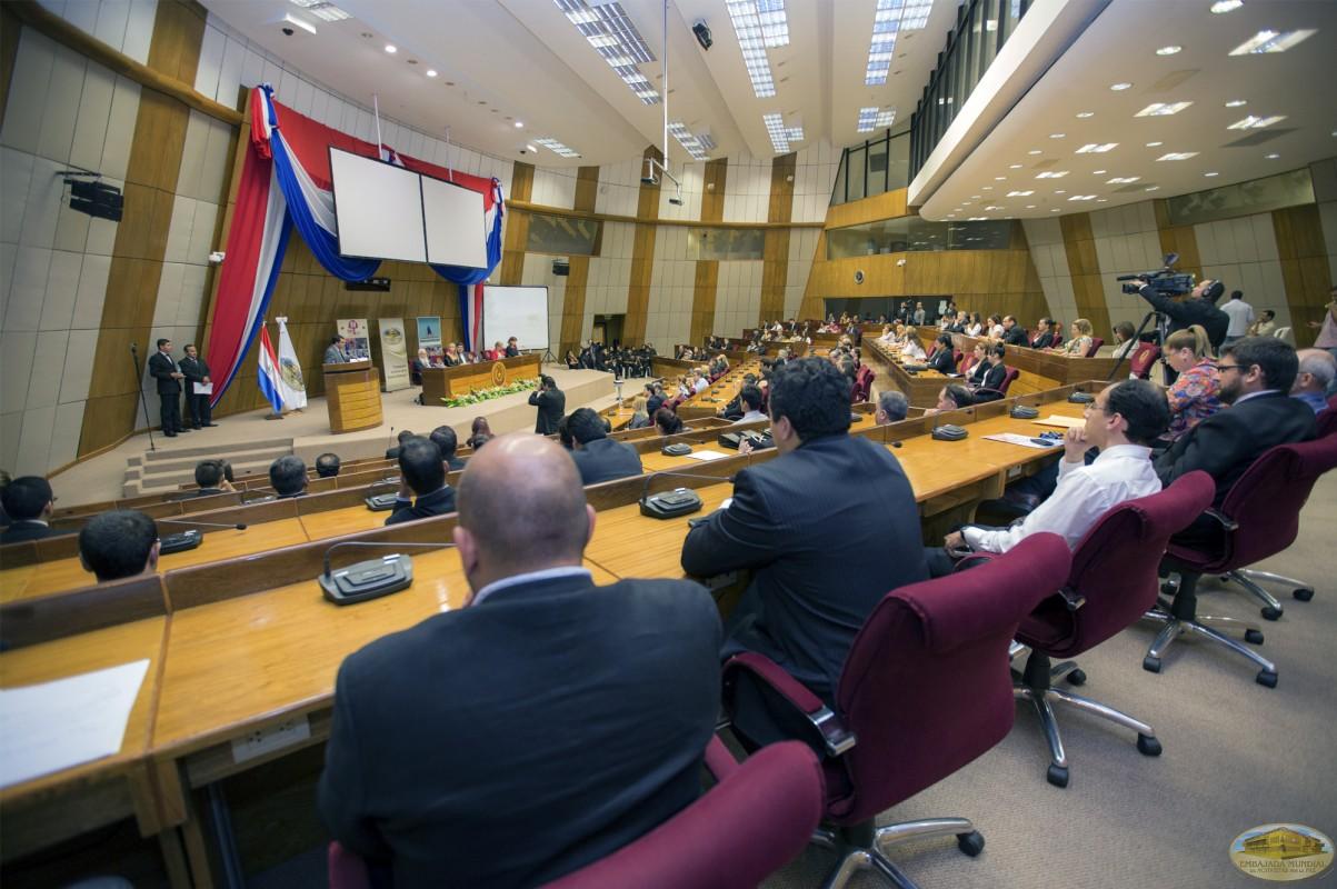 La Alianza Internacional de Universidades por la Paz (ALIUP), lanza su Primer Seminario en el Congreso Nacional de Paraguay