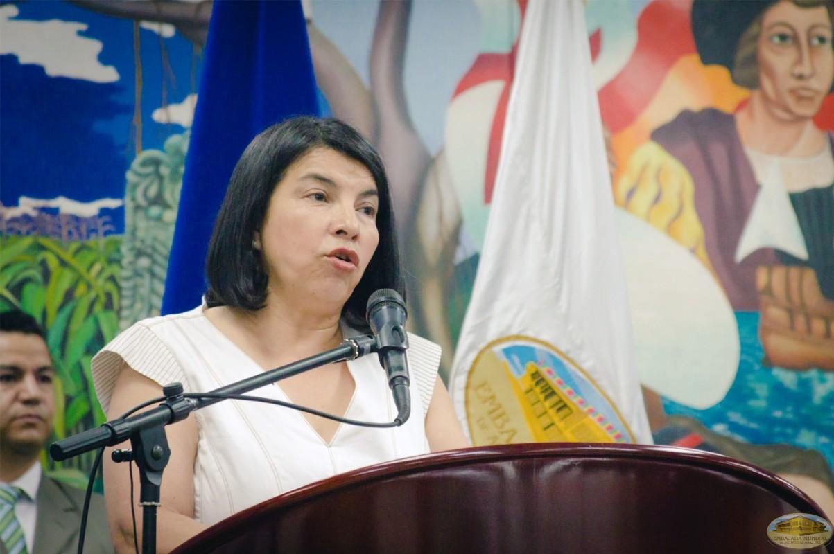 Rosario Bueso | IV Seminario Internacional de la ALIUP - Tegucigalpa, Honduras