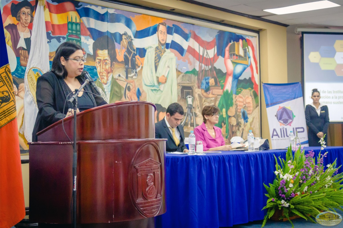 Norma Martínez   IV Seminario Internacional de la ALIUP - Tegucigalpa, Honduras