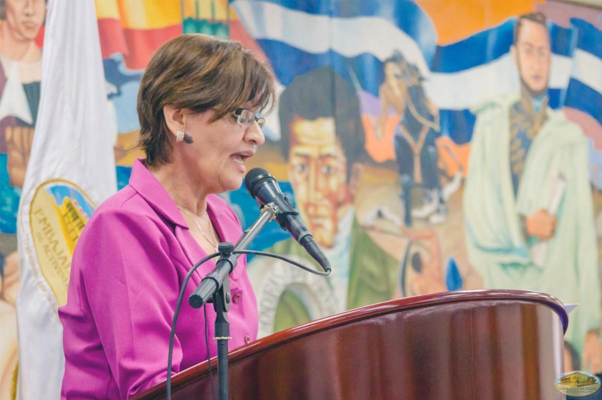 Linda Rivera Lobo   IV Seminario Internacional de la ALIUP - Tegucigalpa, Honduras
