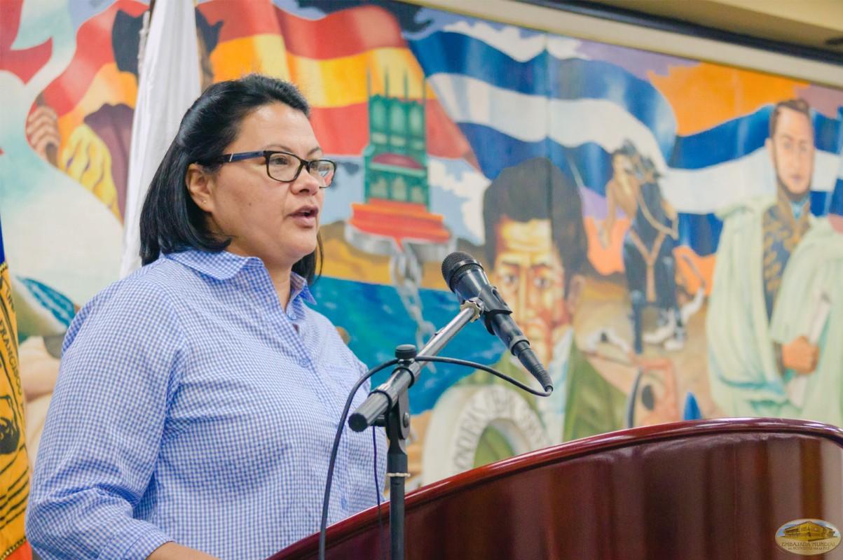 Consuelo Patricia Carías | IV Seminario Internacional de la ALIUP - Tegucigalpa, Honduras