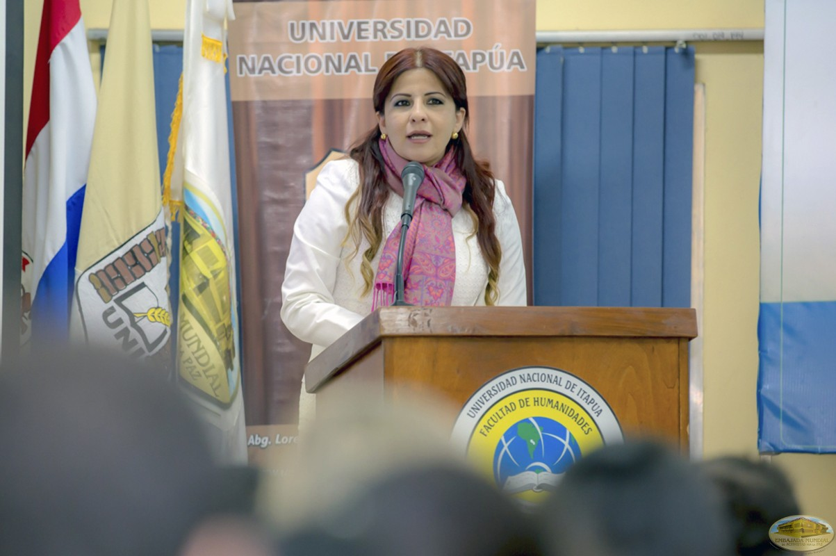 Gabriela Lara   Primer Seminario Taller de la ALIUP - Paraguay