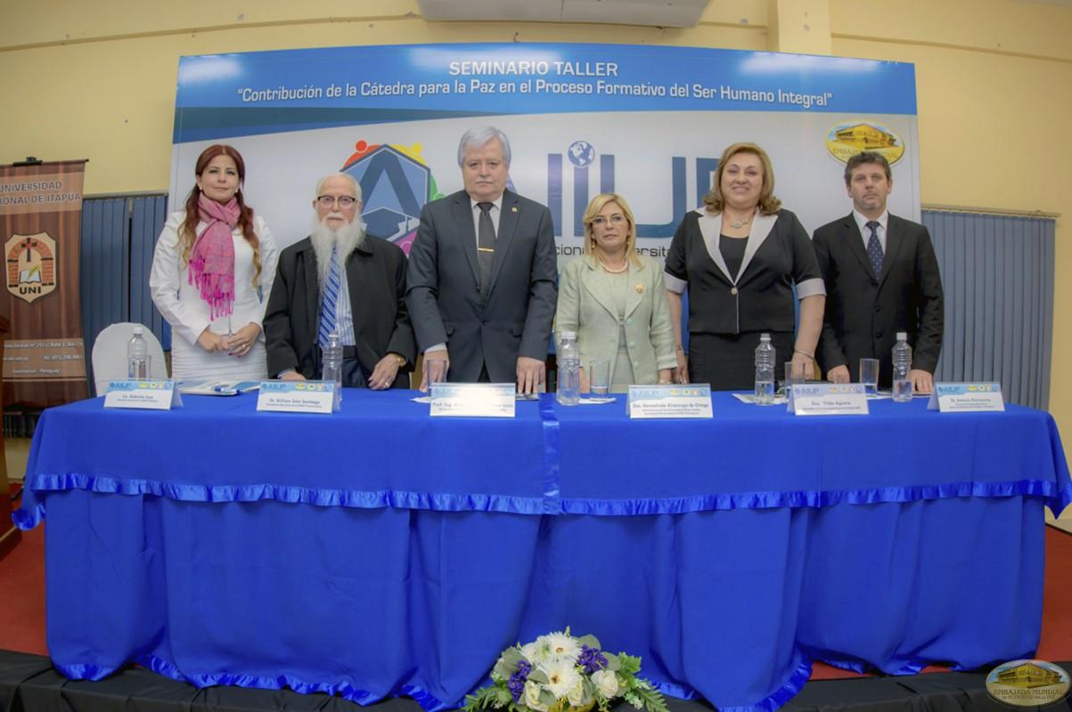 Hildegardo González | Primer Seminario Taller de la ALIUP - Paraguay