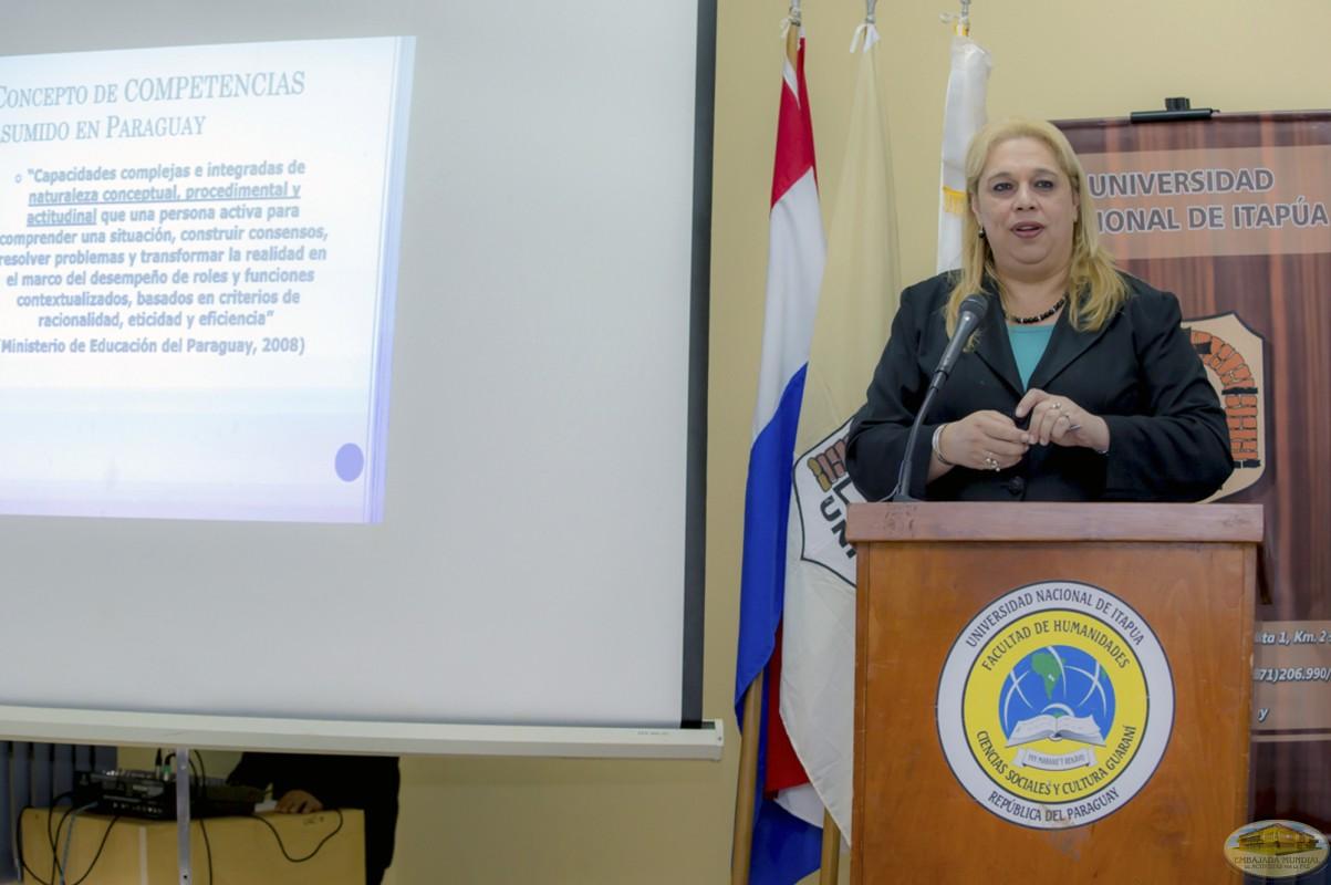Nancy Oilda Benítez   Primer Seminario Taller de la ALIUP - Paraguay