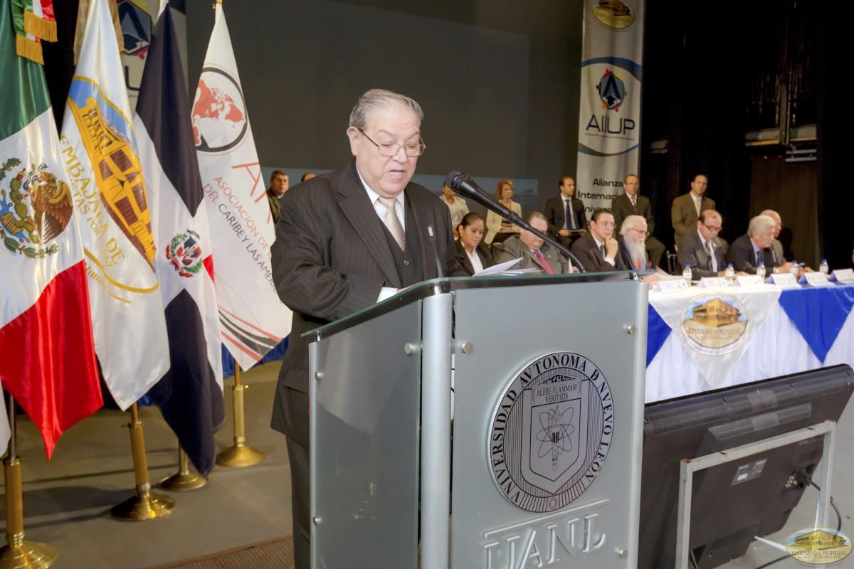 Gregorio Treviño Lozano  Firmas de Convenios ALIUP y Universidades en México