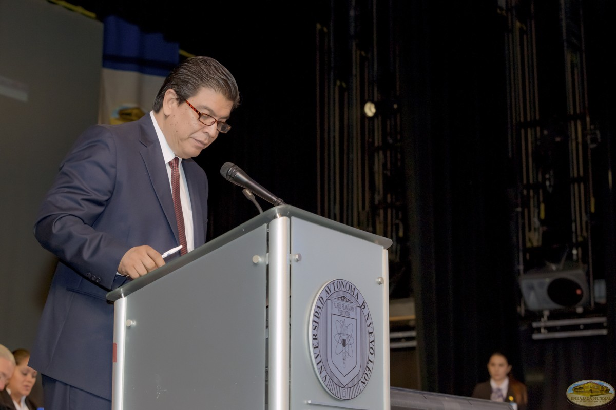 Luis Nevares Olivares   Firmas de Convenios ALIUP y Universidades en México